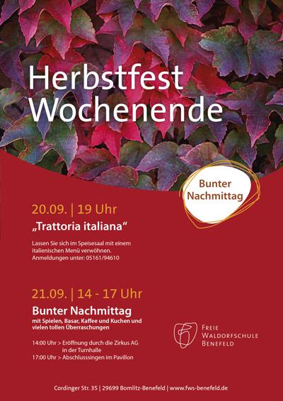 Herbstfest am 20./21.09 2019