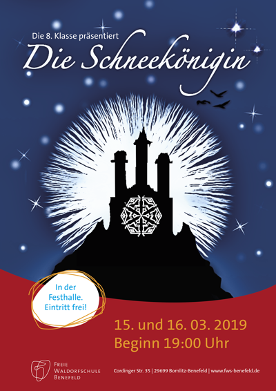 """Theaterstück """"Die Schneekönigin"""""""