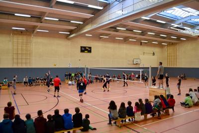 Großes Volleyball-Turnier an der FWS Benefeld